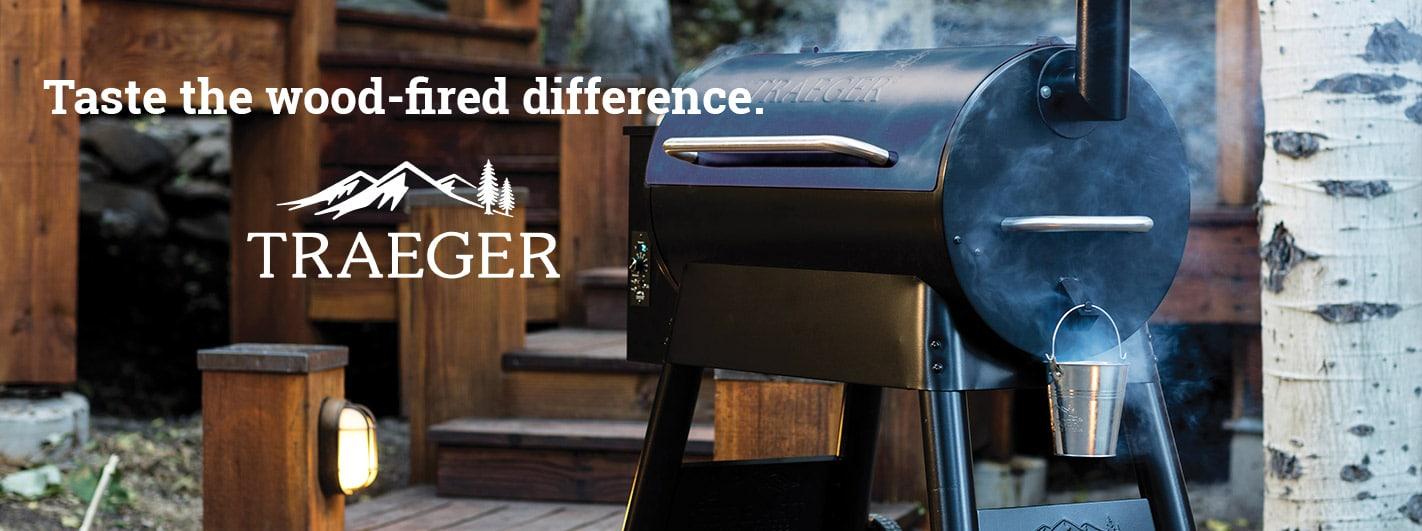 Traeger header