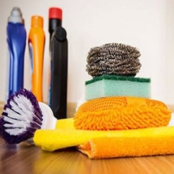 cleaning brushes sponges cloths