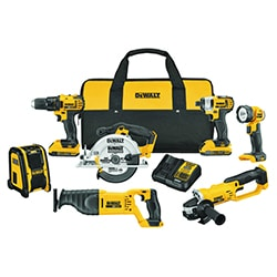 dewalt power combo tool kit