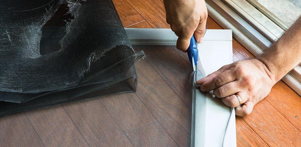 door windor screen repair