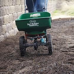 grass seed fertilizer spreader