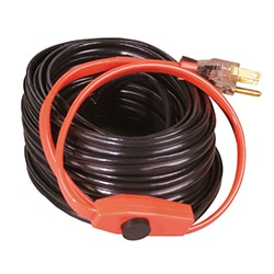 heat tape cables pipes