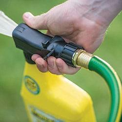 lawn grass weeds hose sprayer