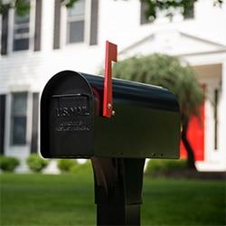mailbox posts locks slots