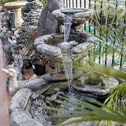 outdoor decor statues birdbath fountain