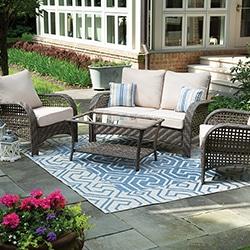 patio furniture sets swings canopies gazebos gliders tables