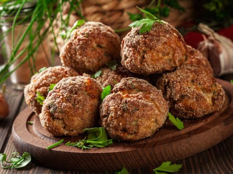 perfect pork meatballs