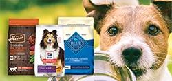 pet dog puppy wet dry food kibble
