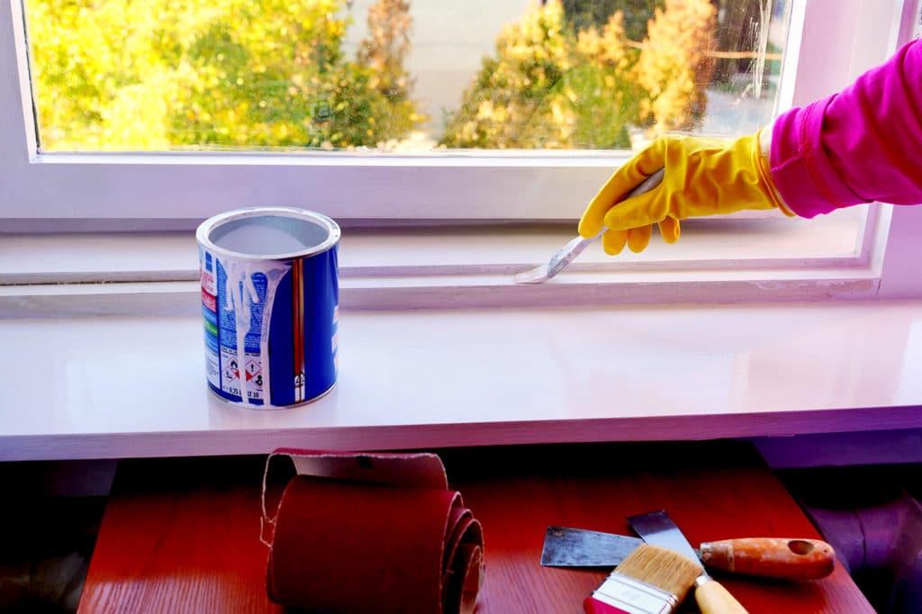 satin vs semi gloss paints