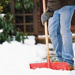 snow ice sleet removal shovel salt brush