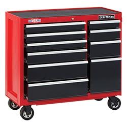 tool storage organization work bench sawhorse chest cabinet