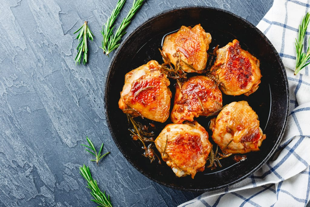 VCP Killer Patio Chicken Thighs Recipe