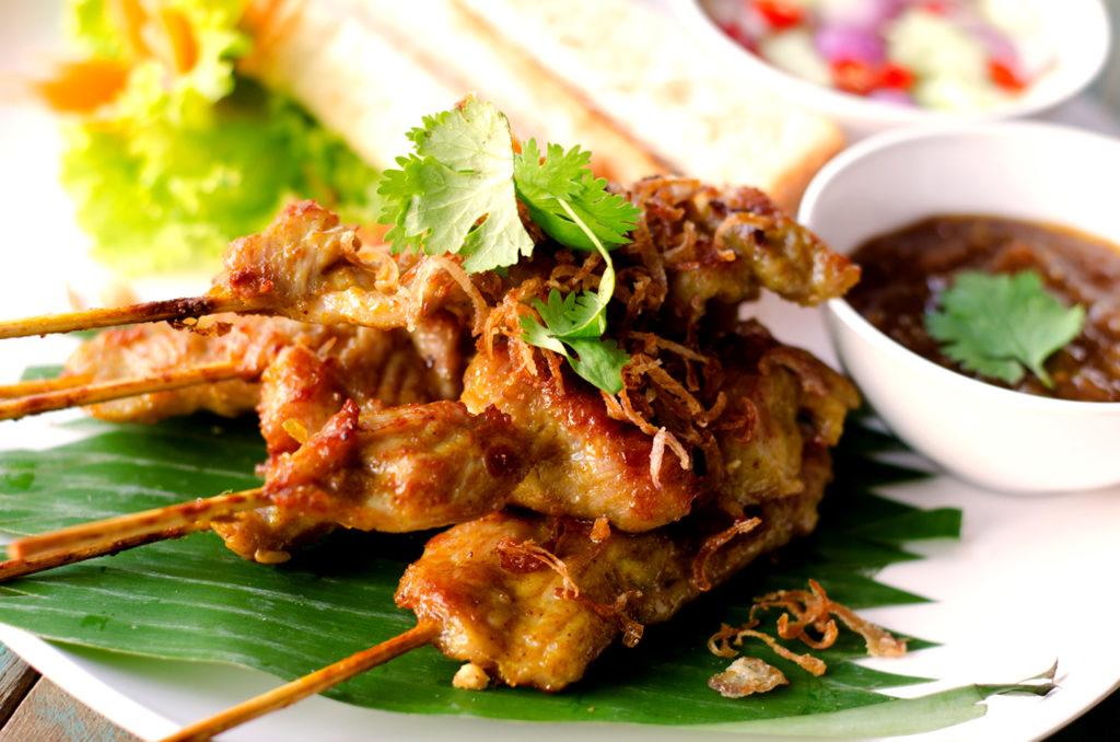 Thai Pork Skewer Recipe Andy Groneman